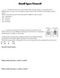 Punnett Square Homework