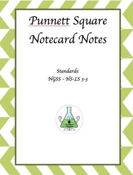 Punnett Square Notecard