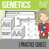 Punnett Squares Science Practice Cubes