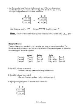 Punnett Squares, Genetic Crosses and Heredity