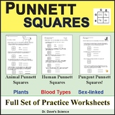 Punnett Squares, Genetic Crosses and Heredity