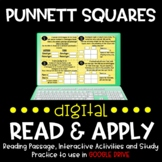 Punnett Squares DIGITAL Read and Apply (DISTANCE LEARNING)