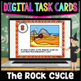 The Rock Cycle Digital Task Cards | Google Classroom and D