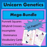 Punnett Squares Bundle / Dihybrid Cross Bundle / Mendelian Genetics Bundle