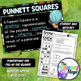PUNNETT SQUARES SCIENCE DOODLE NOTES, INTERACTIVE NOTEBOOK, MINI ANCHOR CHART