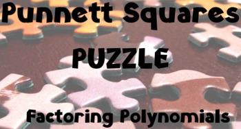 Punnett Squares FACTORING Puzzles
