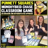 Punnett Squares: Monohybrid Crosses: Classroom Game (color