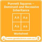 Punnett Squares - Monohybrid Inheritance