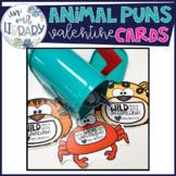 Punny Animal Valentine's Day Cards