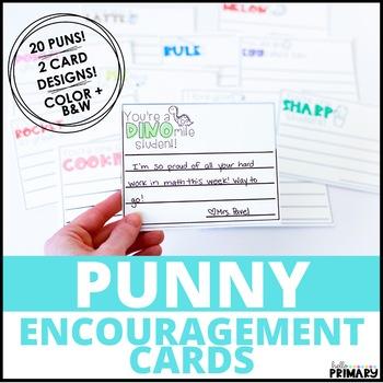 Punny Encouragement Cards