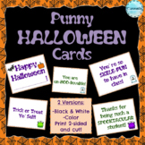 [Punny] Halloween Cards