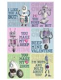 Punny Robot Valentines
