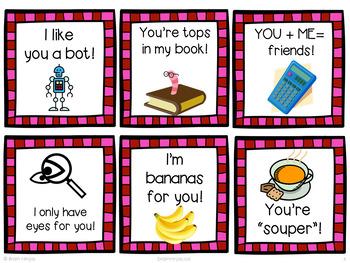 Valentine's Day Cards- Puns
