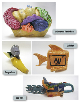 Punny Word Combo - Ceramics Sculpture Unit