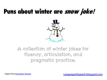 Jokes For Fluency Teaching Resources Teachers Pay Teachers