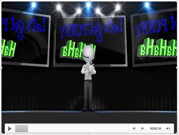FIGURATIVE LANGUAGE (PUNS) - Interactive PowerPoint