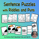 Puns and Riddles in Sentence Puzzles - Printable for Home