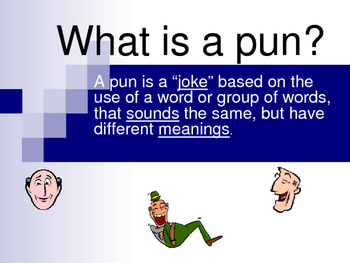 Puns in Romeo and Juliet PowerPoint Student and Teacher Copy