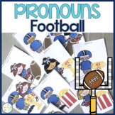 Punting for Pronouns:  Football & Cheerleader Themed Pronouns Cards