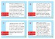 Punto de Vista, tarjeta de tarea. Spanish Point of View task cards.