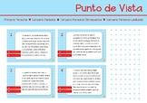 Punto de Vista, tarjeta de tarea. Spanish Point of View ta