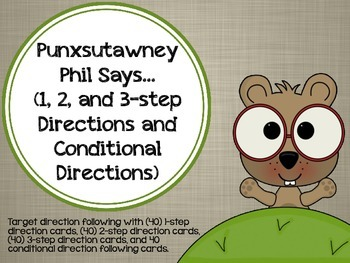 punxsutawney phil says 1 2 3 step and conditional directions. Black Bedroom Furniture Sets. Home Design Ideas