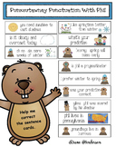 Punxsutawney Punctuation With Phil: Fix The Sentence Cards