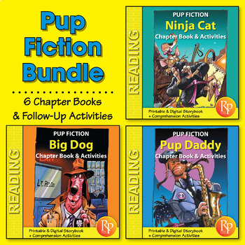 Pup Fiction Adventures - 6 Chapter Books & Activities {Bundle}