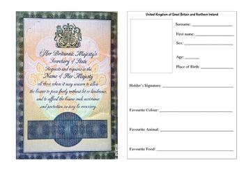 Pupil Passport (Englidh)