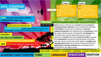 Pupil Revision EBOOK,  English Language Arts, Unit 3 COMPARISON