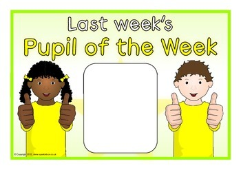 Pupil of the Day/Week
