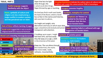 Pupils' Poetry! Complete Independent Study Guide! Power & Conflict (Part 3)