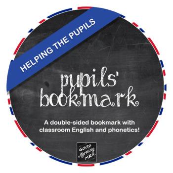 Pupils' bookmark