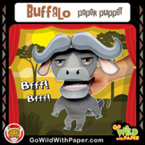 Puppet Buffalo Craft Activity |