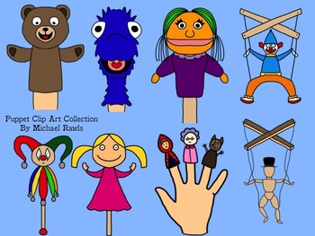 Puppet Clip Art Collection