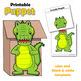 Puppet Crocodile