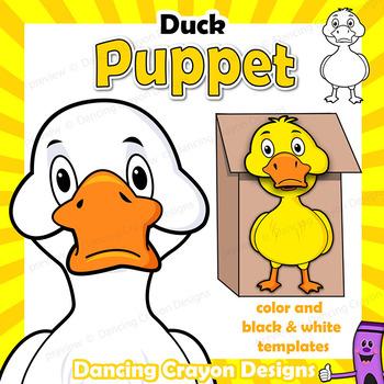 Puppet Duck Craft Activity