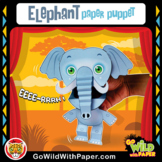 Puppet Elephant Craft Activity