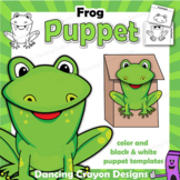 Puppet Frog Craft Activity | Paper Bag Puppet