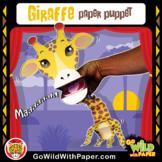 Puppet Giraffe Craft Activity