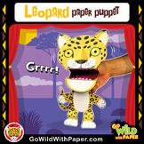 Puppet Leopard Craft Activity