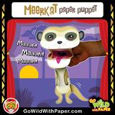 Puppet Meerkat Craft Activity | Suricate