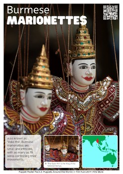 Puppet Poster Pack 2 - Puppets Around the World