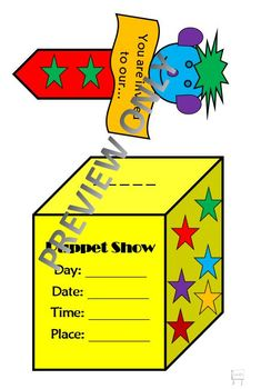 Puppet Show Invitation