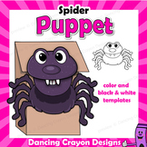 Puppet Spider | Craft Activity