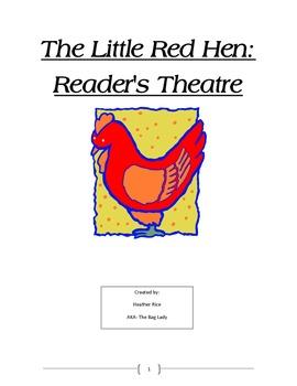 Puppet Theater- Little Red Hen