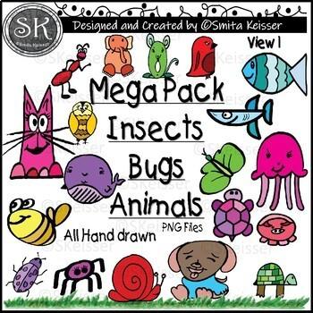Animals Clip Art Style Collection (Smita Keisser Clip Art)