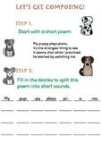 Puppies Composing Worksheet