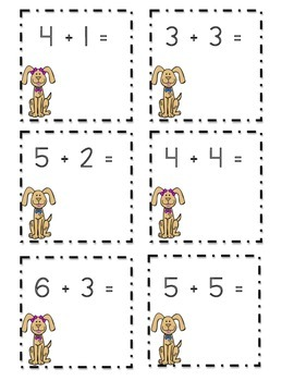 Puppy Addition cards to 20