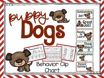 Puppy Behavior Clip Chart